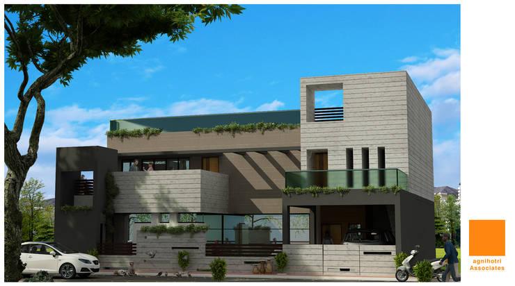Residence at Tikamgarh :  Houses by agnihotri associates