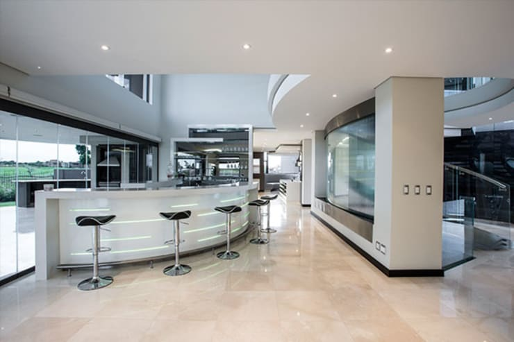 Residence Calaca:  Kitchen by FRANCOIS MARAIS ARCHITECTS