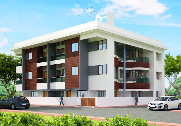 Apartment at Indore:   by agnihotri associates