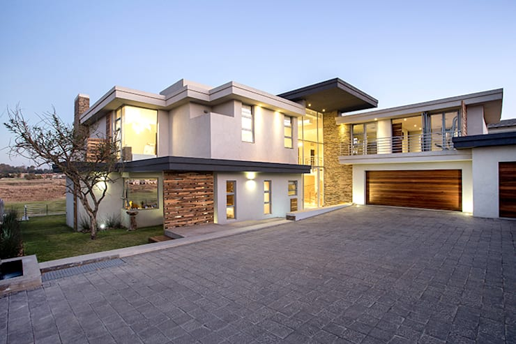 Residence Naidoo:  Houses by FRANCOIS MARAIS ARCHITECTS