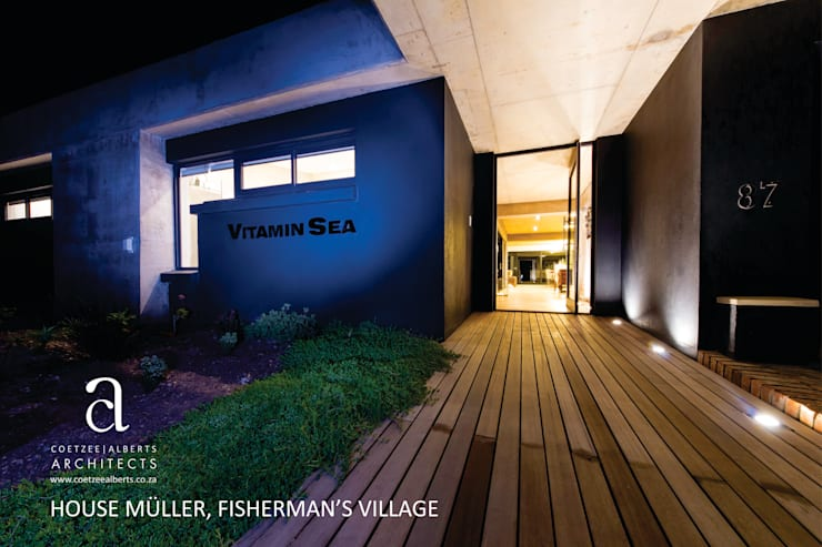 House Meuller: modern Houses by Coetzee Alberts Architects