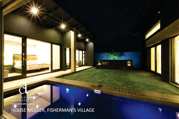 House Meuller:  Pool by Coetzee Alberts Architects