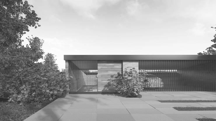 CASA GONZALEZ: Casas de estilo  por HAC Arquitectura