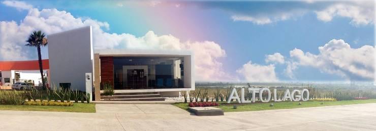 Esculturas Alto Lago Residencial de ALTO LAGO RESIDENCIAL Moderno