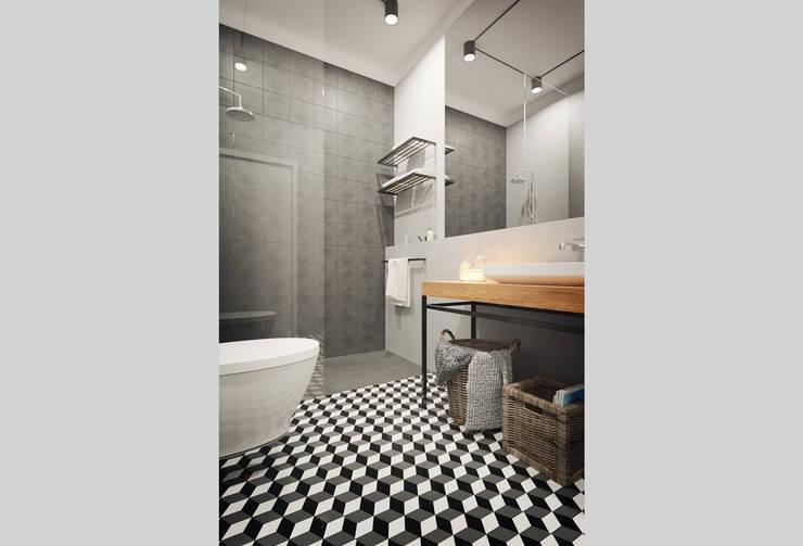 浴室 by ASVS Arquitectos Associados