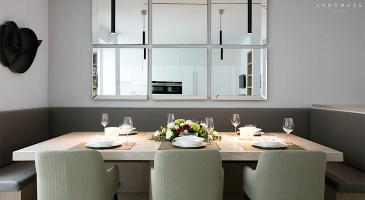 Dining room by Landmass London