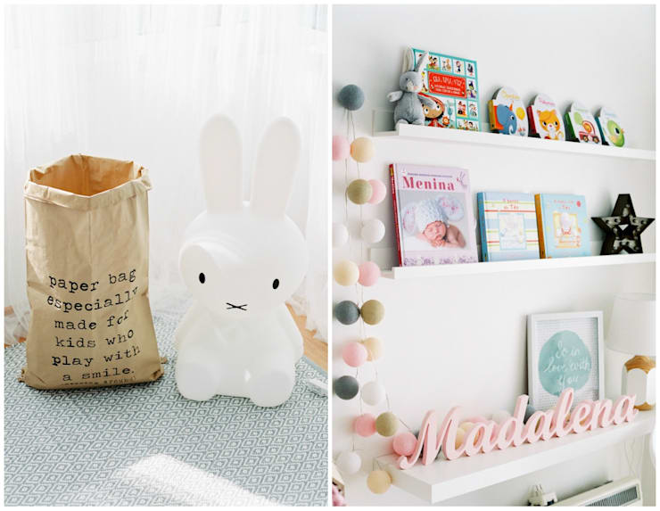 Nursery/kid's room by In&Out, Modern