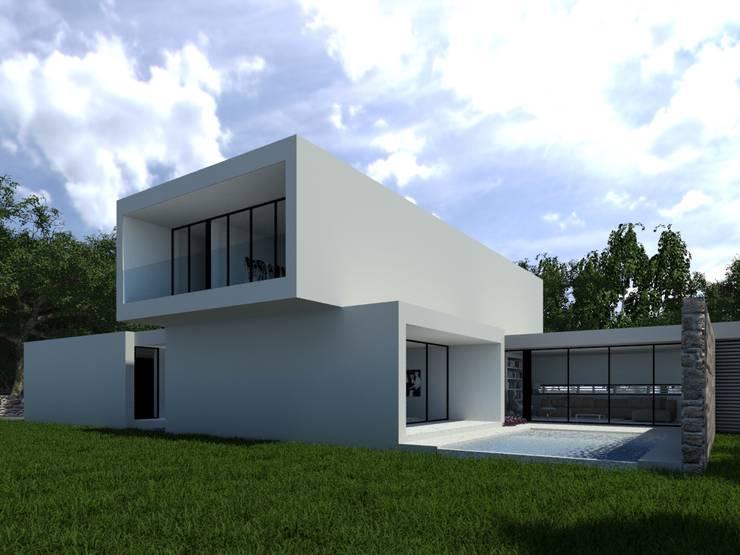 Habitação PC: Casas  por ARTEQUITECTOS