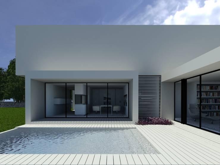Habitação PC: Piscinas  por ARTEQUITECTOS