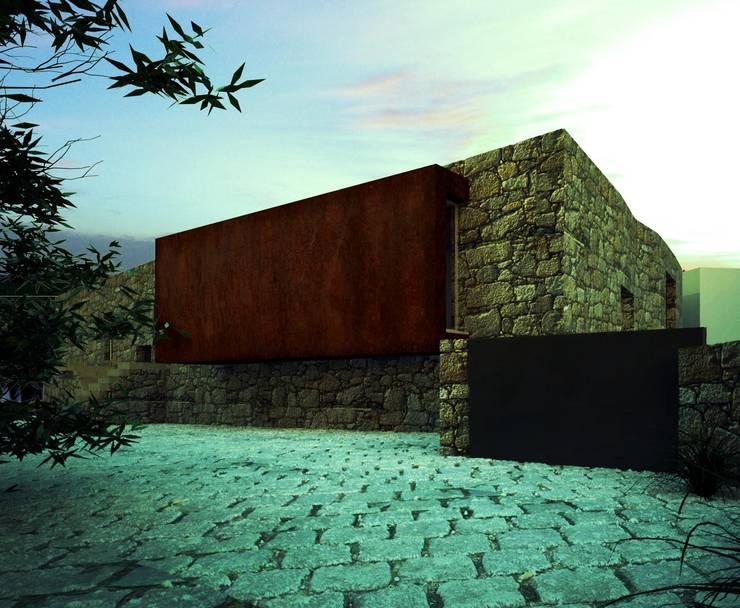 Habitação MB: Casas  por ARTEQUITECTOS