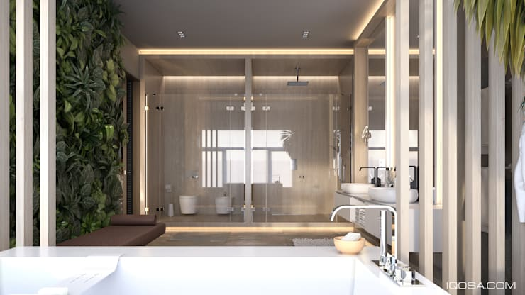 minimalistic Spa by homify