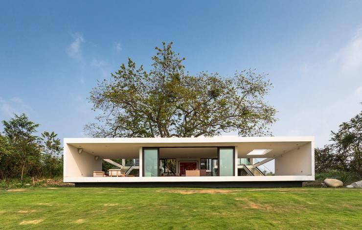 Casas minimalistas por Yucatan Green Design