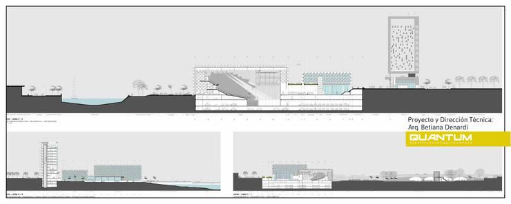 ELEVACIONES:  de estilo  por Betiana Denardi | Arquitecta