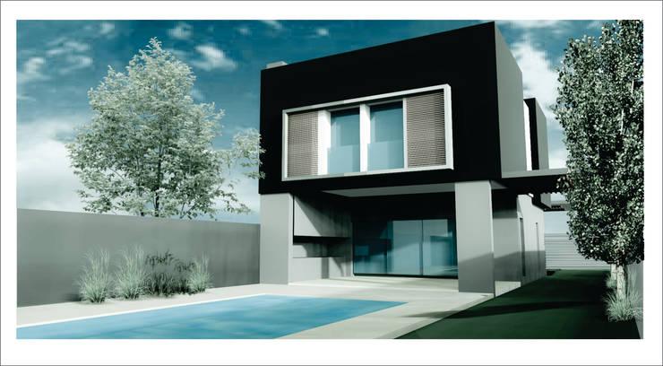 Vivienda, San Miguel de Tucumán : Casas de estilo  por D&D Arquitectura