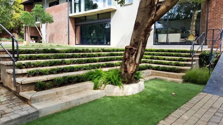 Lynnwood Strubenkop Estate :  Corridor & hallway by Gorgeous Gardens