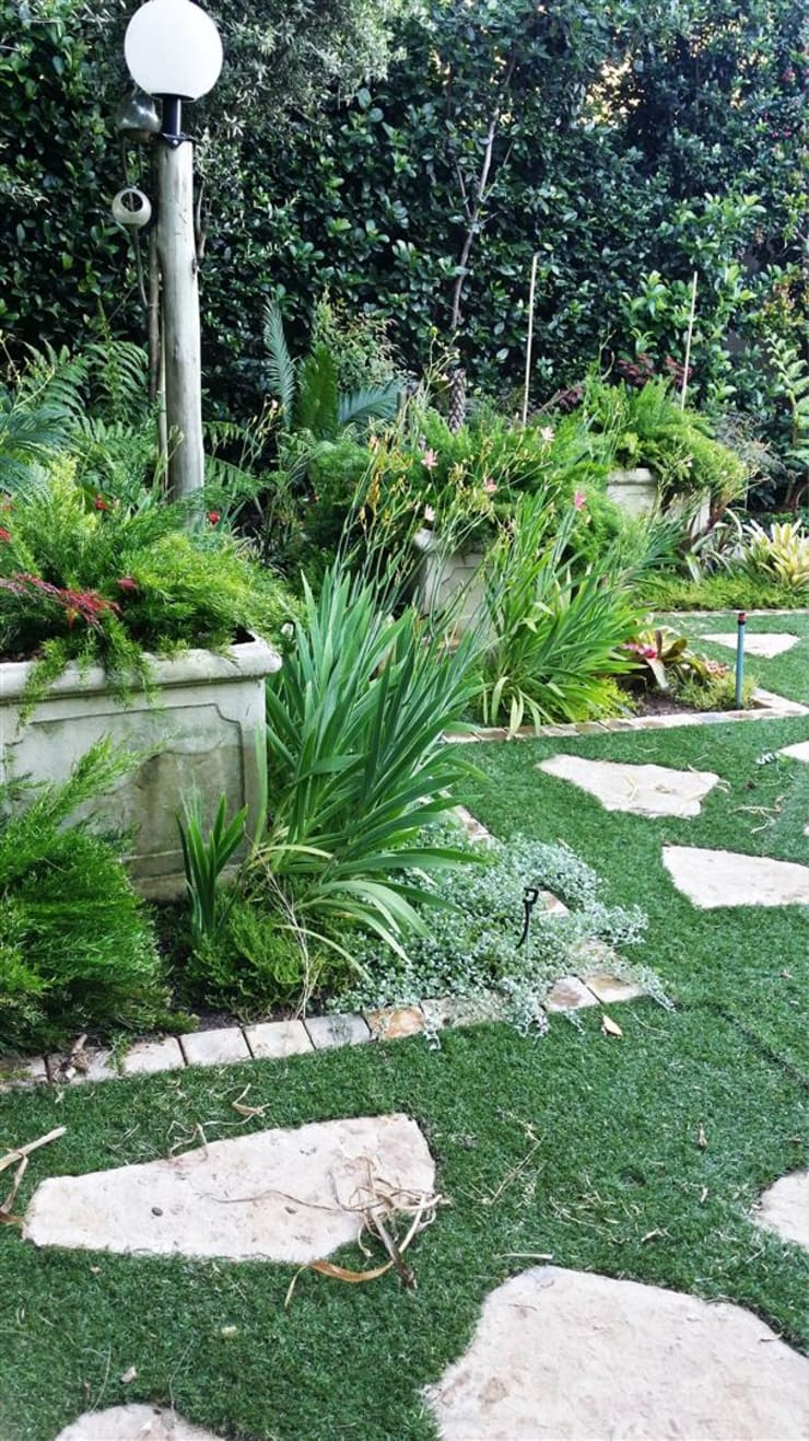 Jardin de style  par Gorgeous Gardens, Méditerranéen