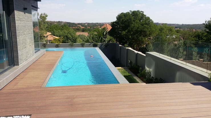 The Wilds Estate:  Pool by Gorgeous Gardens