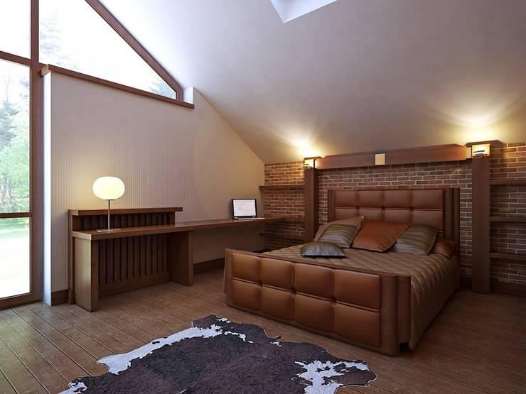Bedroom by Design studio of Stanislav Orekhov. ARCHITECTURE / INTERIOR DESIGN / VISUALIZATION., Modern