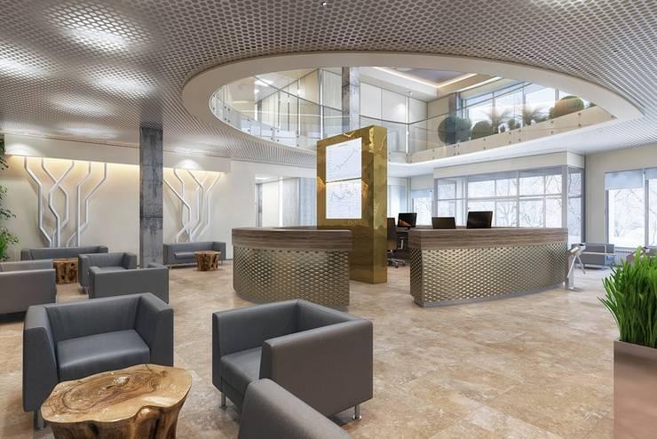 Offices & stores by Design studio of Stanislav Orekhov. ARCHITECTURE / INTERIOR DESIGN / VISUALIZATION., Modern