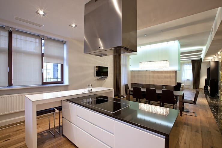 Kitchen by Design studio of Stanislav Orekhov. ARCHITECTURE / INTERIOR DESIGN / VISUALIZATION., Modern