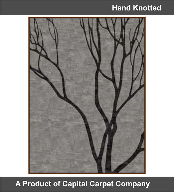 Hand Knotted Carpet: classic  by Capital Carpet Company,Classic Wool Orange