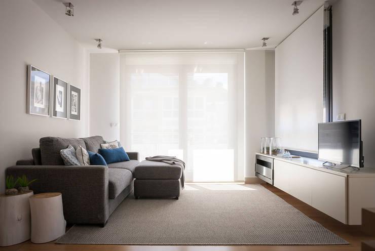 moderne Wohnzimmer von Estibaliz Martín Interiorismo