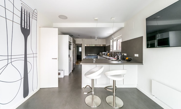 Keuken door 08023 Architects