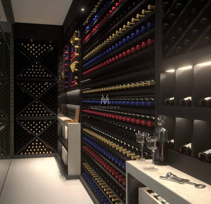 Bodegas de estilo  de Vinomagna - Bespoke Wine cellars