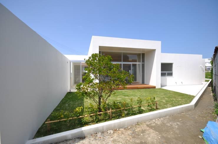 HG-HOUSE: 門一級建築士事務所が手掛けた庭です。