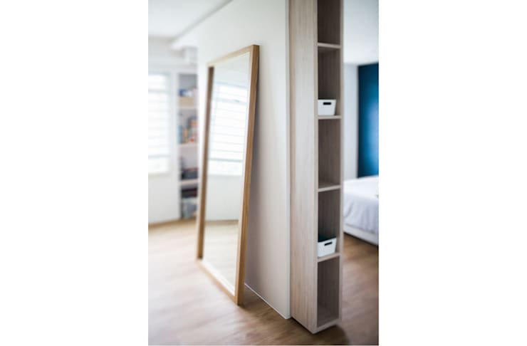 RIVERVALE DRIVE:  Bedroom by Eightytwo Pte Ltd,Scandinavian