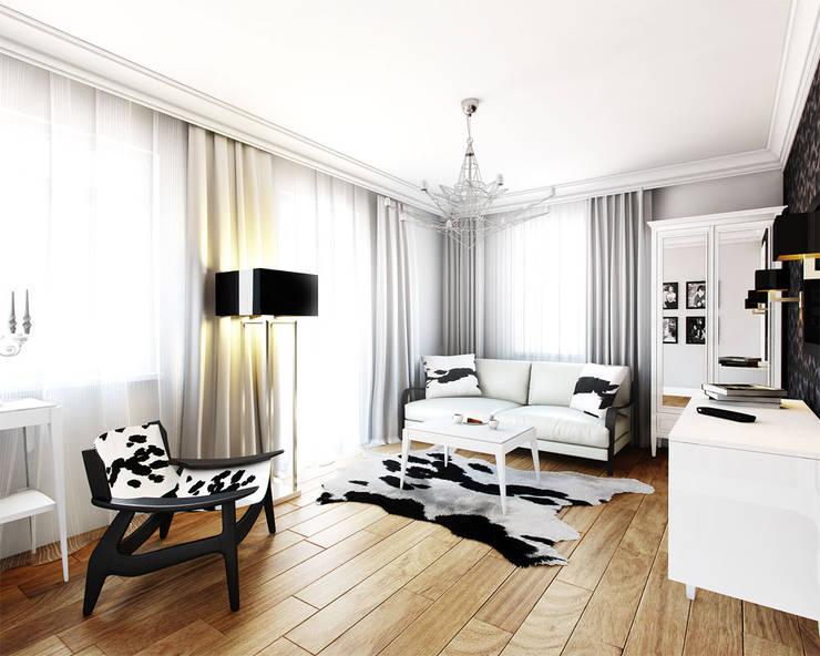 Ruang Keluarga oleh TISSU Architecture, Klasik