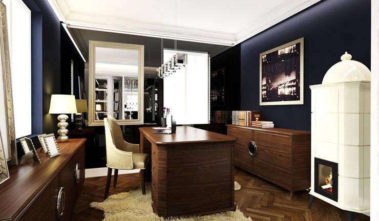 Ruang Kerja oleh TISSU Architecture, Klasik