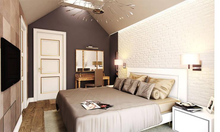 Kamar Tidur oleh TISSU Architecture, Klasik