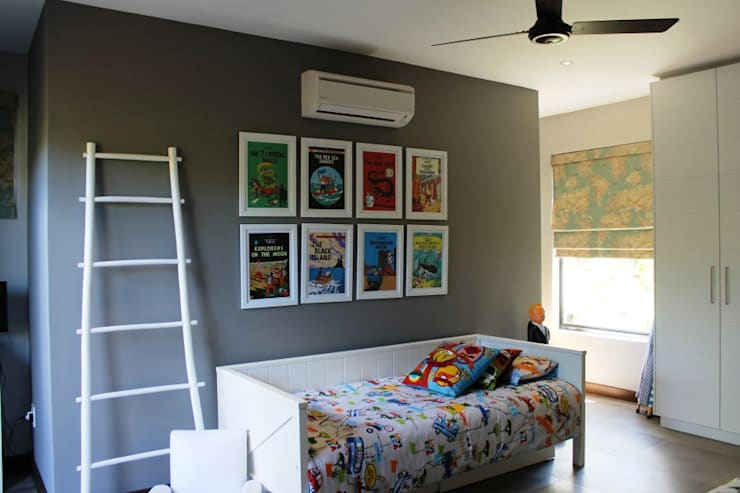 Simbithi Eco Estate 2:  Nursery/kid's room by Margaret Berichon Design