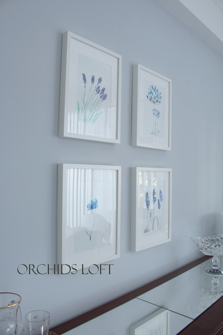 More Inspiration for the home: Salas de jantar  por ORCHIDS LOFT
