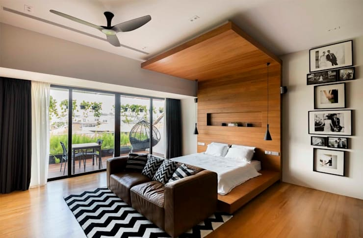 modern Bedroom by Eightytwo Pte Ltd