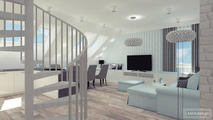 Wohnzimmer von LAMAdesign Magdalena Lasko,