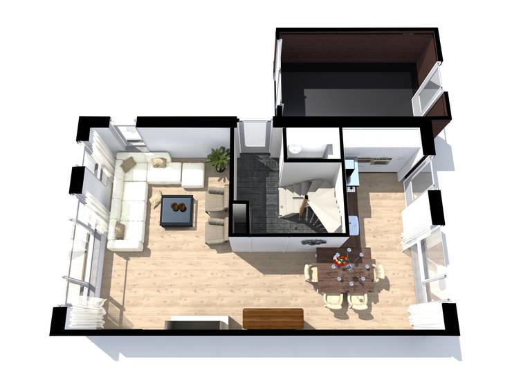 Interieur Droom Projectbouw:   door Droom Visualisaties