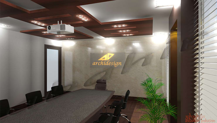Commercial Projects:  Commercial Spaces by Abahir Interiors