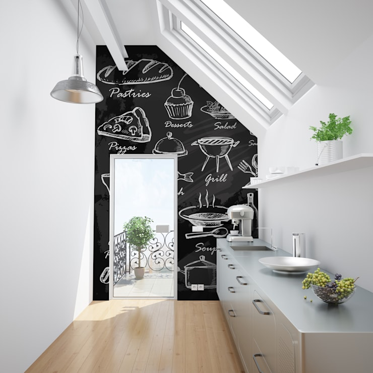 Blackboard:  Kitchen by Pixers