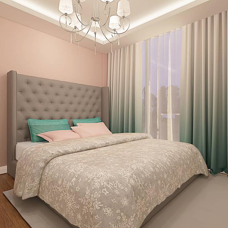Ofis 352 Mimarlık Hizmetleri – ORHAN-OLIVIA EVİ:  tarz Yatak Odası