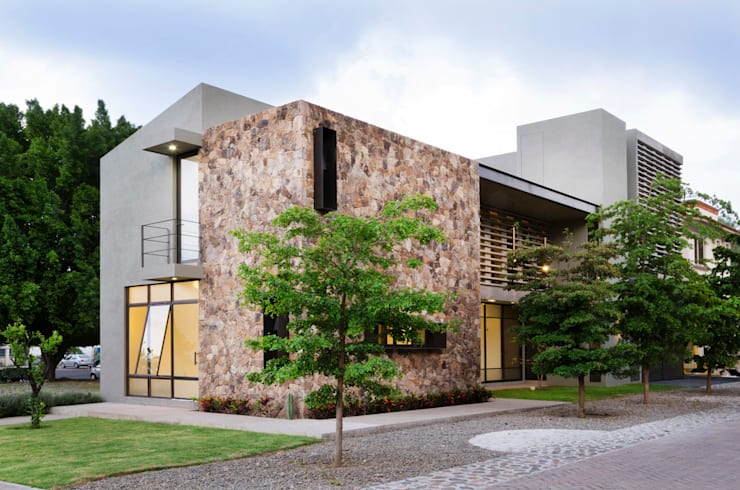 Houses by VMArquitectura, Modern Concrete