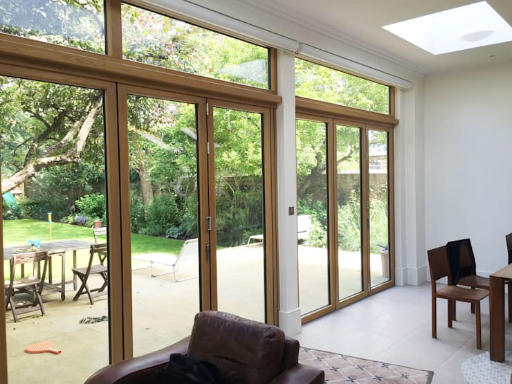 ​Rear Bi-folding Doors - As Built :   by Arc 3 Architects & Chartered Surveyors
