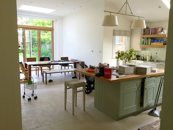 Kitchen - As Built :   by Arc 3 Architects & Chartered Surveyors