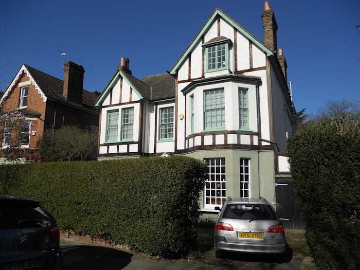 Front Elevation - Before:   by Arc 3 Architects & Chartered Surveyors