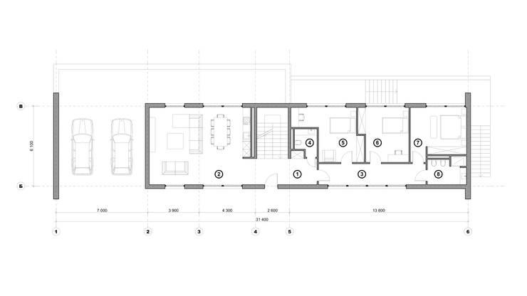 Минимализм 2: Дома в . Автор – Максим Любецкий
