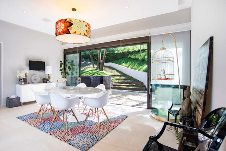 Paseo 82: Salas de estilo  por Sobrado + Ugalde Arquitectos