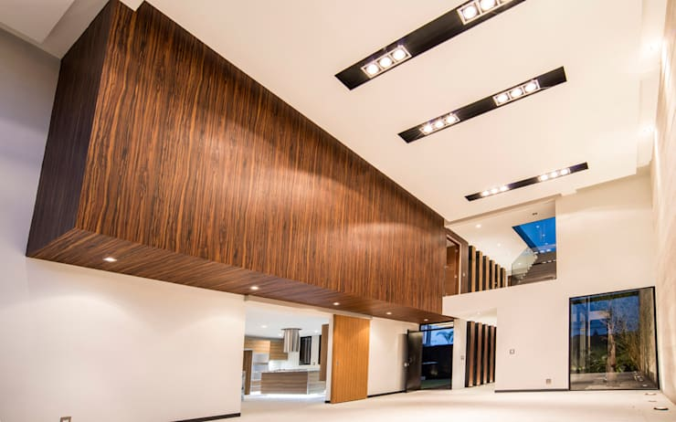 Satélite : Salas de estilo  por Sobrado + Ugalde Arquitectos