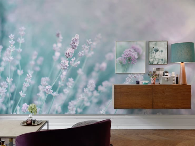 Color Lavanda Per Pareti : Color lavanda in casa: 10 idee ed esempi