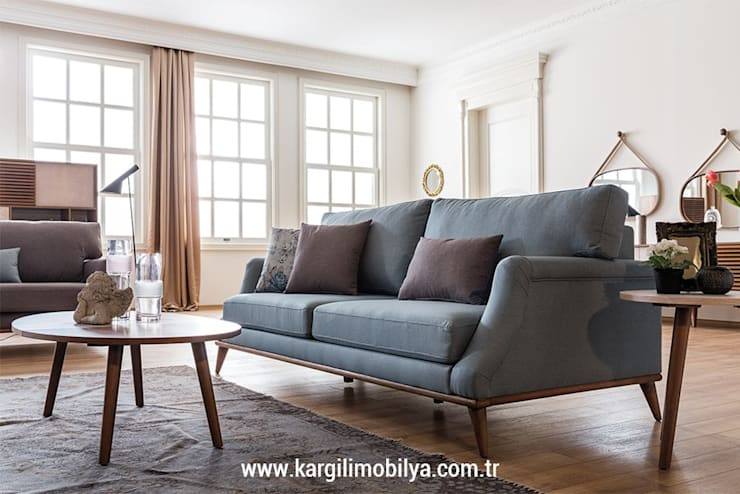 Kargılı Ev Mobilyaları – Dressy Modern Koltuk Takımı:  tarz Oturma Odası